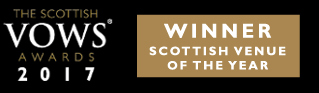 Voted Best Scottish Wedding Venue of 2017